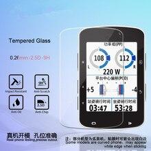 2 pièces Premium verre trempé protecteur décran pour Garmin Edge 1000/820/1030/520/510/530/830 /130/520/plus Film de protection