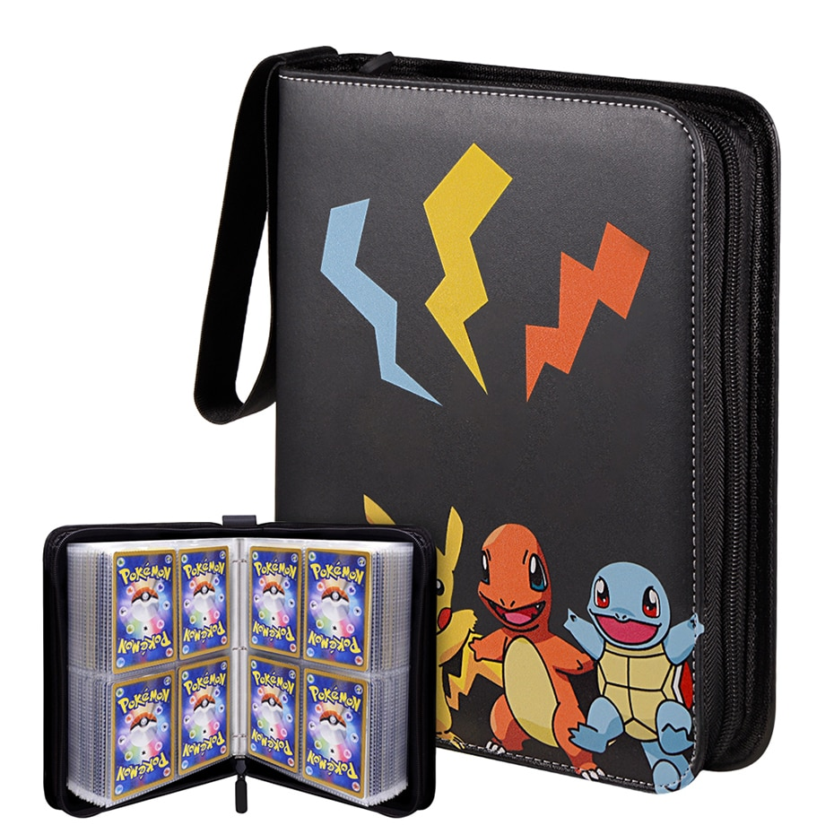 Can Hold 200-400Pcs Cards Holder Album Pokemon Box Gx Francaise Card Holder For Pokemon Card Holder Game Cards Book