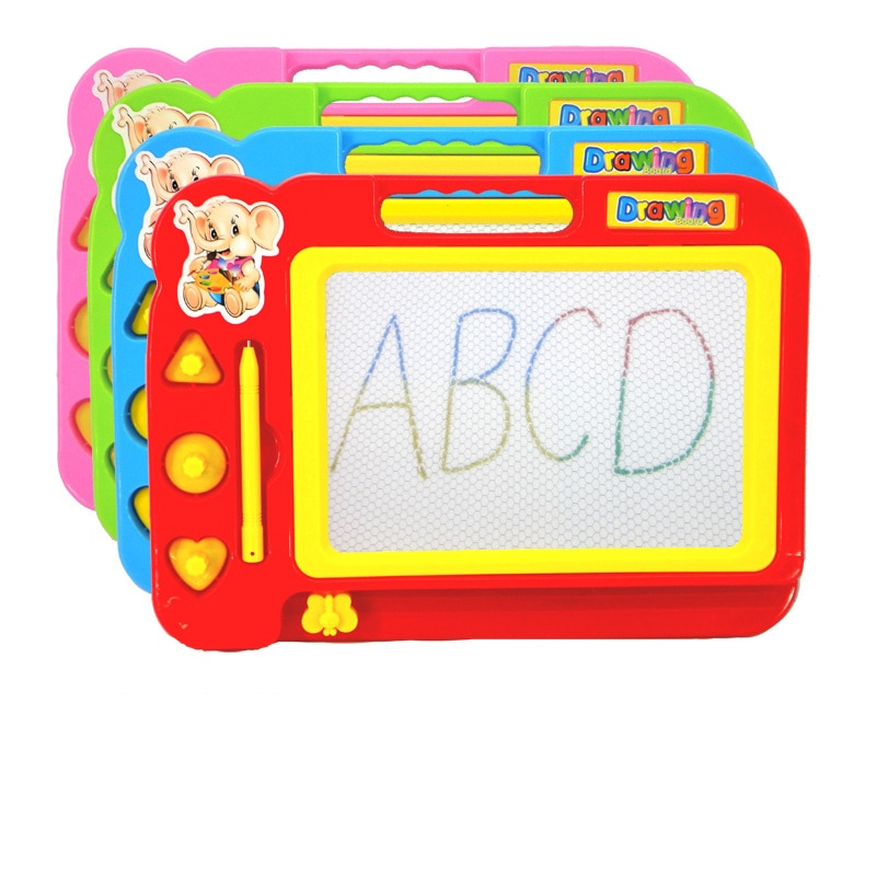 Toys For Children Kid Color Magnetic Writing Painting Drawing Graffiti Board Toy Preschool Tool Draw