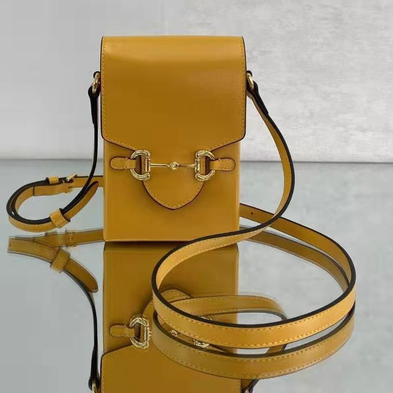 High Quality Women Crossbody Genuine Leather Brand Fashion Men Cell Mobile Phone Case Messenger Shoulder Bag