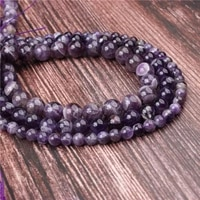 natural striped amethyst stone beads round beads loose beads for making jewelry diy bracelet necklace 6810mm
