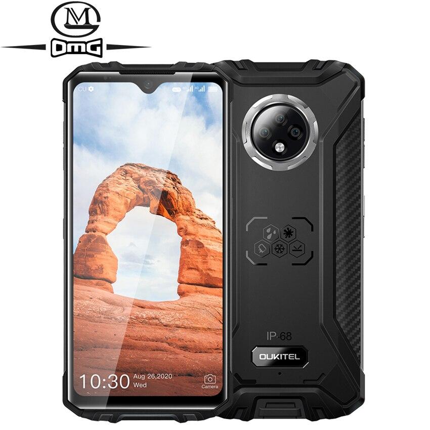 Перейти на Алиэкспресс и купить OUKITEL WP8 Pro NFC 5000 мАч IP68 водонепроницаемый мобильный телефон 6,49 ''HD + дисплей 4 Гб 64 Гб Восьмиядерный Android 10 прочный смартфон