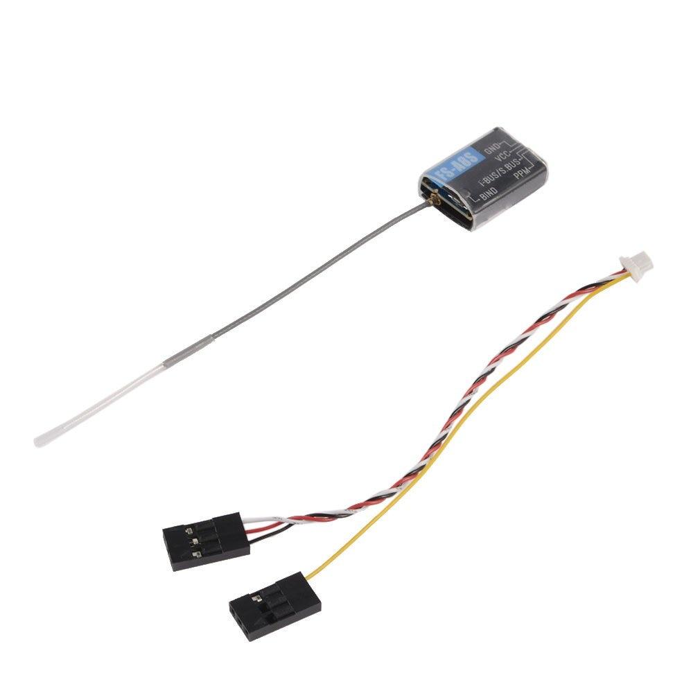 Flysky FS-A8S 2.4G 8CH Mini Receiver with PPM i-BUS SBUS Output for RC Drone Quadcopter FS i4 i6 i6S i6X TM10 TM8 Transmitter