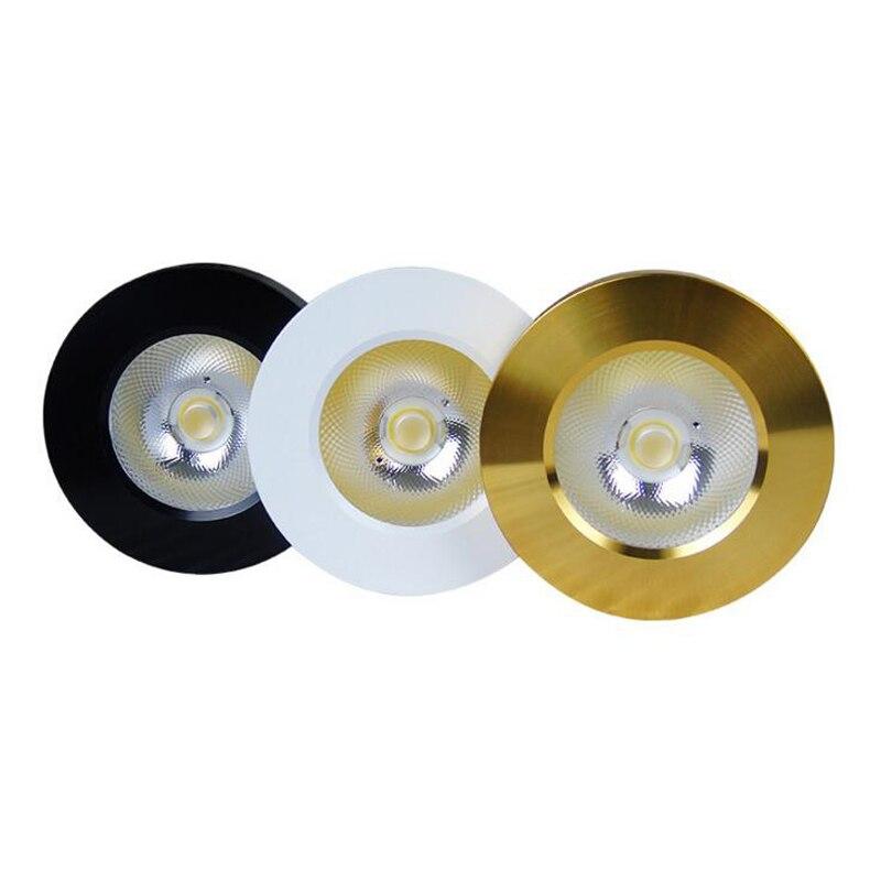 30 unids/lote Ultra delgado LED Downlight lámpara de Panel redondo 5W 10W 15W AC220-240V lámpara de techo montada en superficie AC90-260V armario de vino
