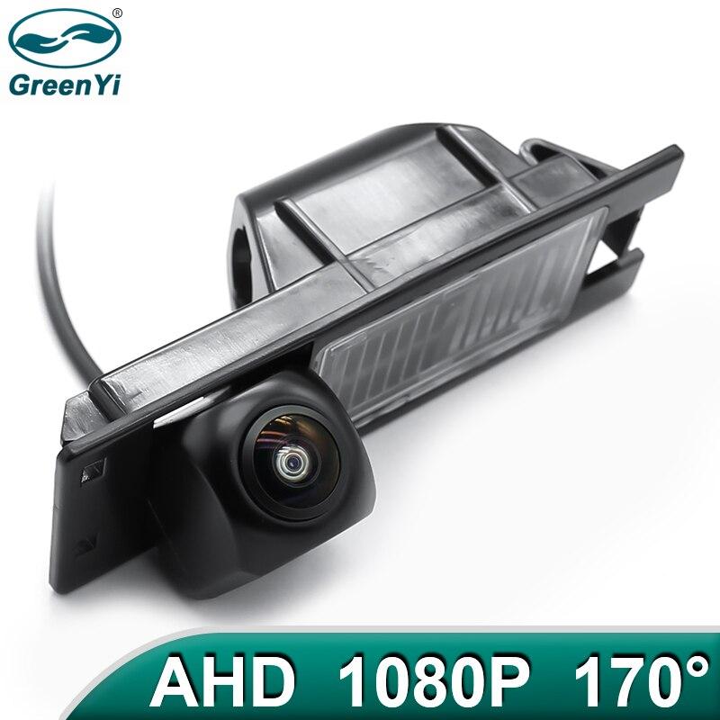 Greenyi 170 graus 1920x1080p hd ahd veículo câmera de visão traseira para opel astra h j corsa meriva vectra zafira insignia fiat carro