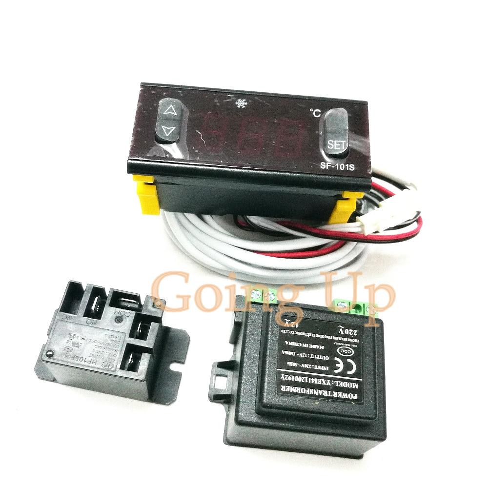 وحدة تحكم في درجة الحرارة Sf101s ، وحدة تحكم في درجة حرارة الثلاجة ، عرض المشروبات ، الخزانة ، الملحقات