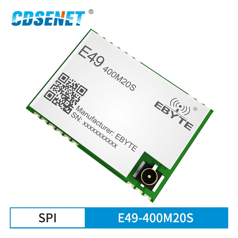 e49 400m20s 433mhz 20dbm cmt2300a chip wireless modules cost effective wireless data transmission spi module long range ebyte CMT2300A 400MHz 20dBm Power Consumption  E49-400M20S Cost-Effective Wireless Data Transmission Module Pure Hardware Module