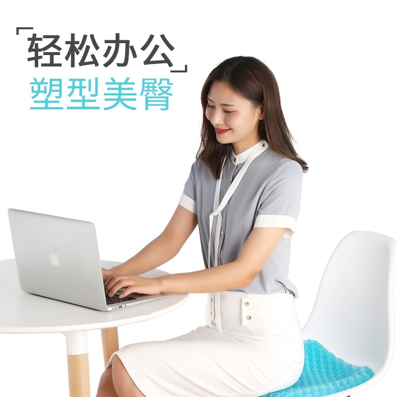 Cooling Gel Ice Pad Seat Cushion Non-slip Honeycomb Foldable Breathable Ice Pad Chair Car Almofada De Gelo Office Decor DM50IP enlarge