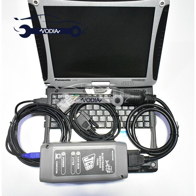 CF19 Servicemaster 4 para JCB Kit de diagnóstico JCB herramienta de servicio electrónico DLA JCB herramienta de diagnóstico
