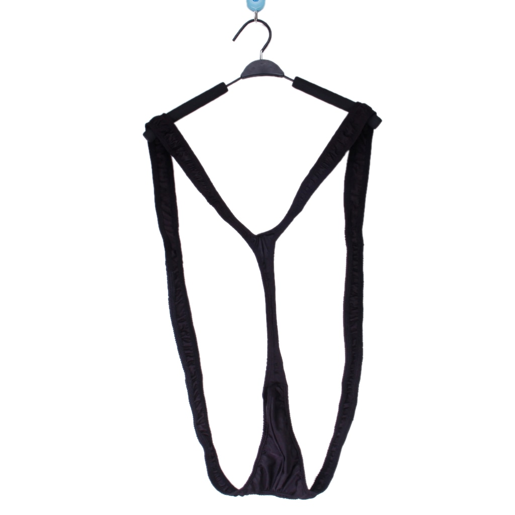 SEXY MEN THONG MANKINI FANCY DRESS SWIMSUIT COSTUME SUMMER BEACH V-shaped Thong is the ultimate in sexy fun wear