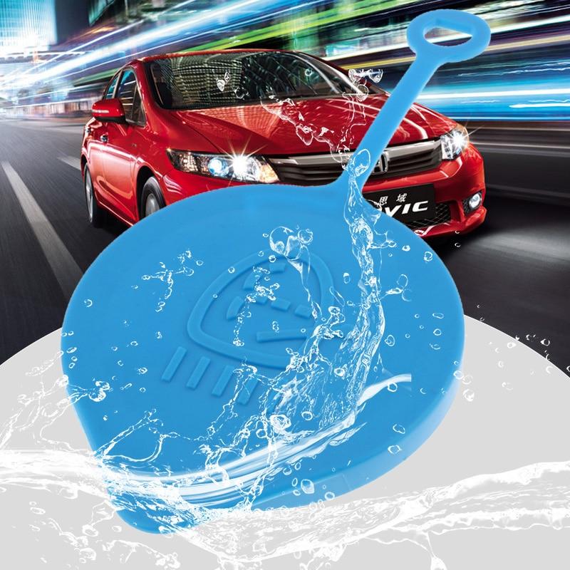 55mm Car Windshield Wiper Washer Fluid Reservoir Tank Bottle Cover For Honda CR-V/Civic/Accord/CRX Etc Plastic Car Accessories