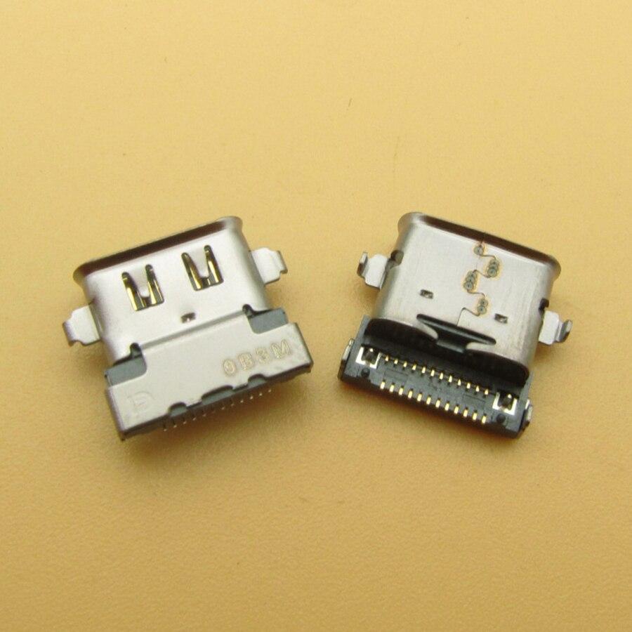 50 قطعة لينوفو ثينك باد X280 X390 T490 T495 T480S X1 الكربون 6th الجنرال تيار مستمر جاك USB نوع C شحن ميناء موصل