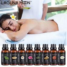 Lagunamoon huiles essentielles pures 30ML 1OZ Rose thé arbre Massage humidificateur menthe poivrée encens lavande jasmin huile essentielle