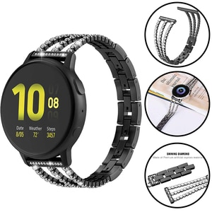 Women's Diamond Smart Band For Huawei Watch GT 2 Pro watch Strap For Honor GS Pro / ES Huawei GT2 Pro 20/22mm Bracelet Watchband