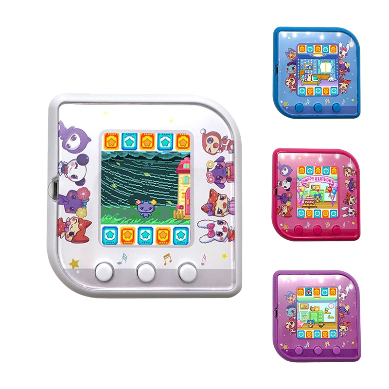 Electronic Pets Toys Tamagotchis Funny Kids Nostalgic Pet In One Virtual Cyber Pet Interactive Toy Digital HD Color Screen E-pet