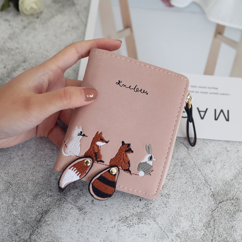 2021 Women Wallet Small Cute Wallet Women Short Leather Women Wallets Cards Holders Luxury Brand Wallets Coin Pocket Purse contact s fashion genuine leather women wallet small standard wallets coin bag brand design lady purse card holders red brown