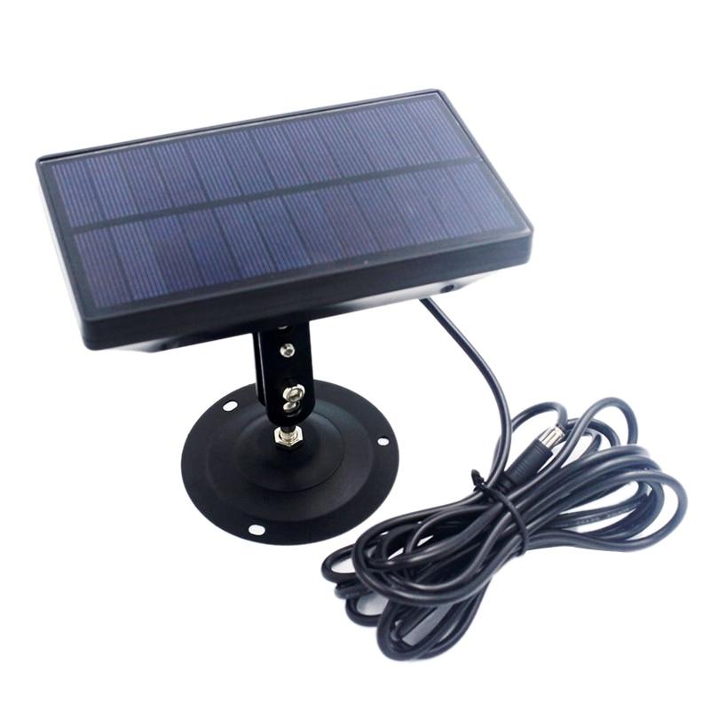 Al aire libre 9V 1800MAh Panel Solar cargador de batería para Suntek HC300 HC350 HC550 HC700 HC800 S990 S880 680 S80M