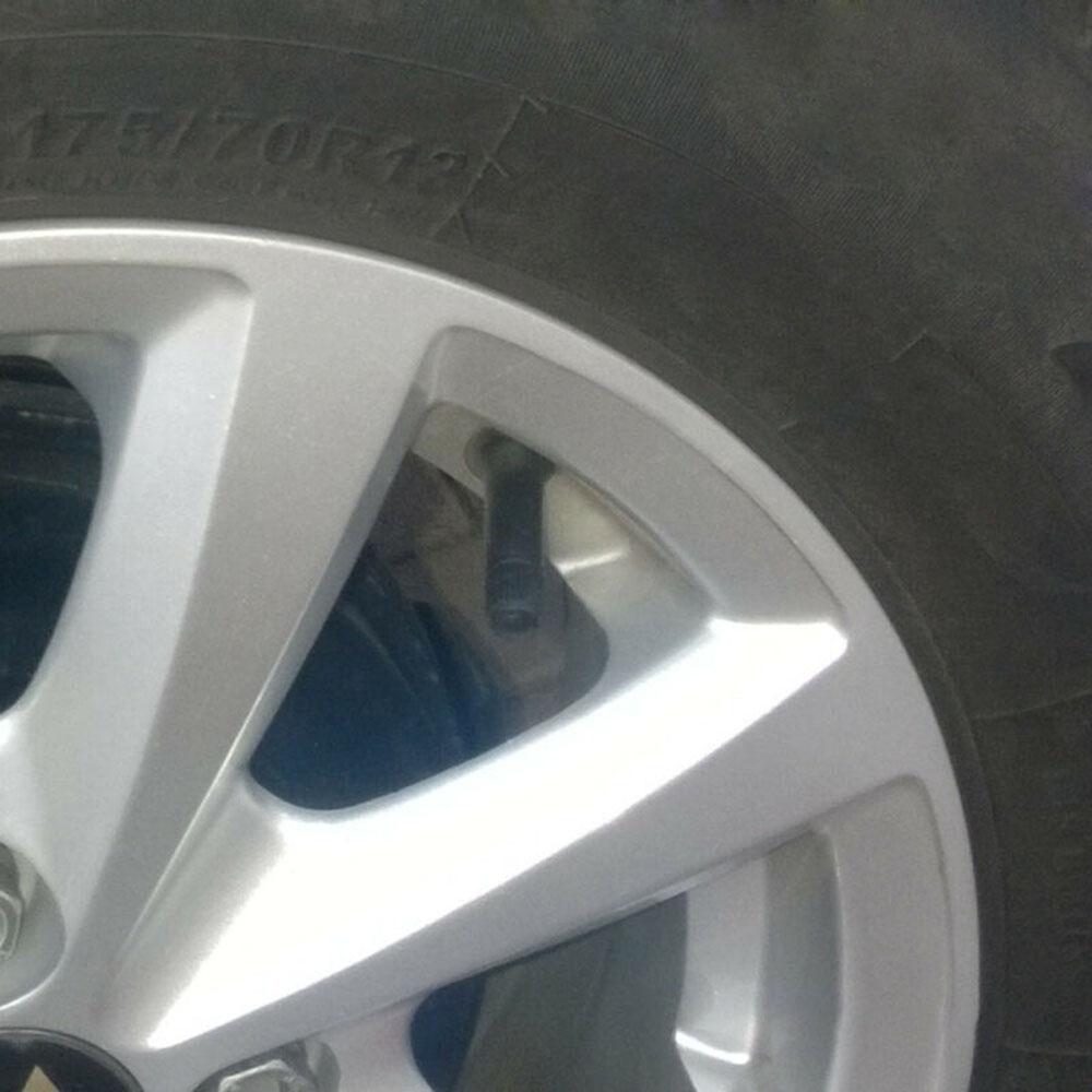 Tapa de neumático 20 piezas TPMS goma negra 20008 para Buick/Cadillac/Chevy/Pontiac