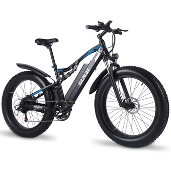 GUNAI Electric Mountain Bike 48V 1000W Electric Bicycle with LCD Display and Hydraulic Disc Brake 26 Inch Snow Bicycle