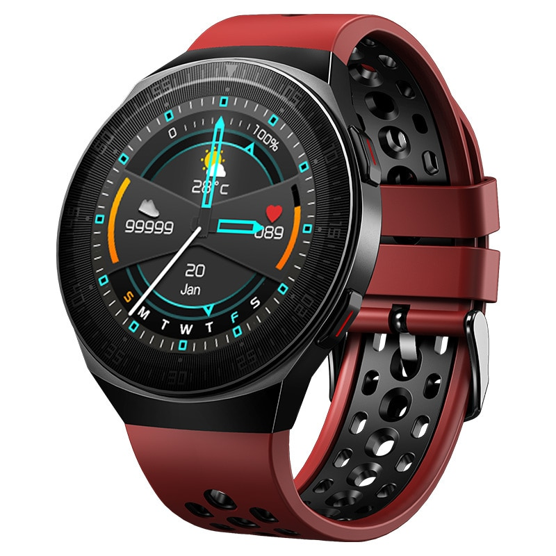 Get ItiSams MT3 Smart Watch Men 8G Memory Music Bluetooth Call Smartwatch Full Touch Screen Recording Bracelet For IOS Android