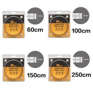 Self-Adhesive Measuring Tape Stainless Steel Workbench Ruler Tape Measure For T-track Table Saw Woodworking