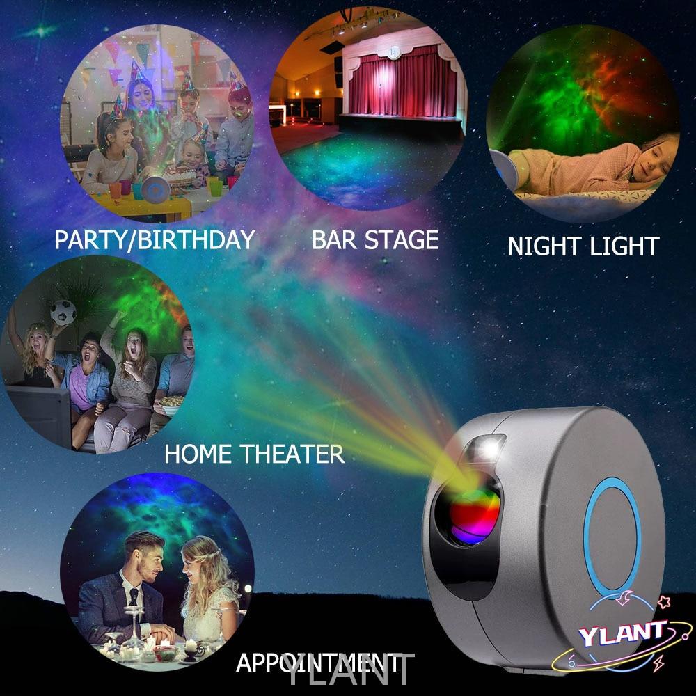 Fancy For Bedroom Decor Night Lamp Novelty Lighting Star Projector Galaxy Lamp Sky Light  Galaxy Projector Starry Night Light
