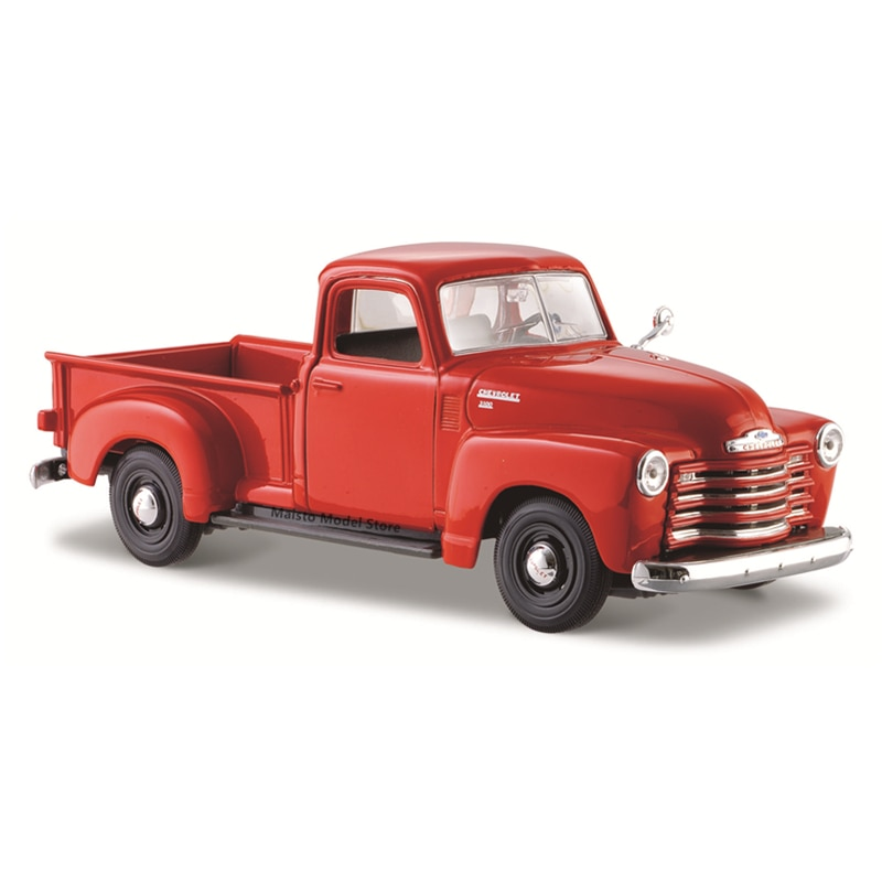 Maisto 1:25 2017 Chevrolet 3100 Pickup edition Highly-detailed die-cast precision model car Model collection gift