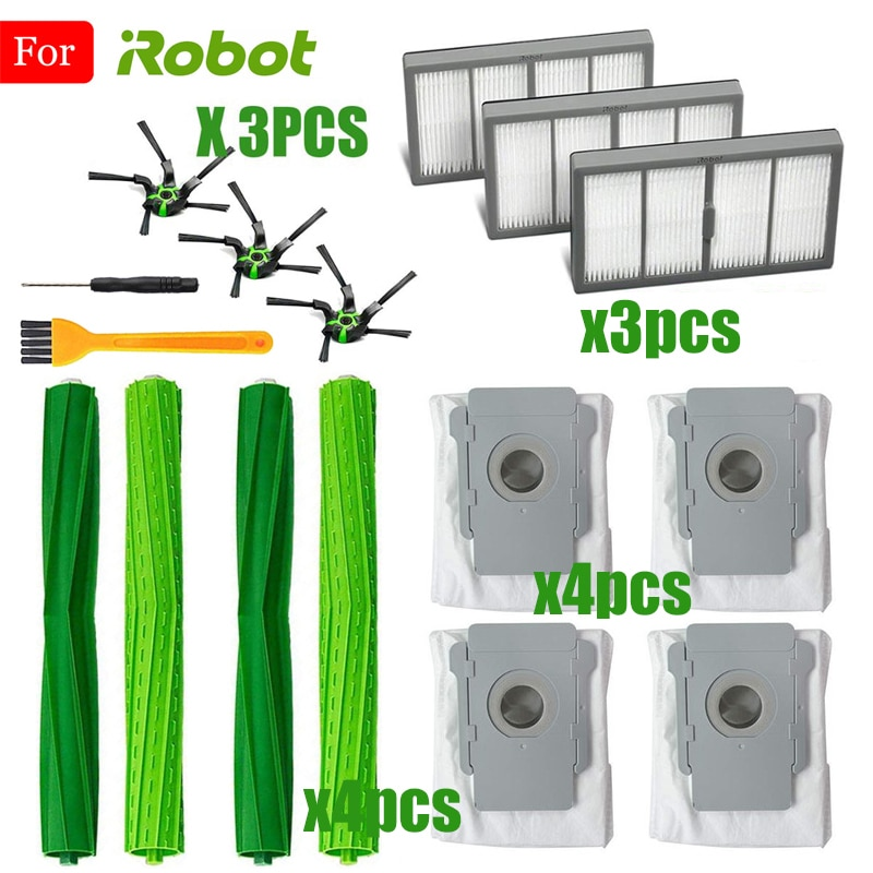 iRobot Replacement Parts Compatible For iRobot Roomba s9 (9150) s9+ s9 Plus (9550) S Series Wi-Fi Connected Robot Vacuum Cleaner