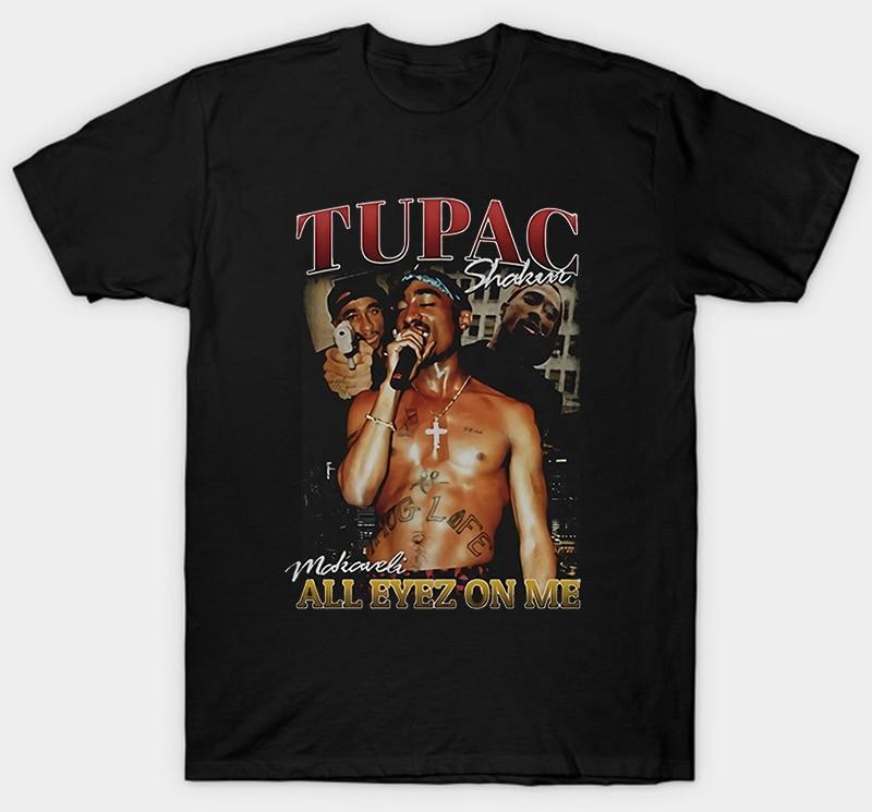 Футболка Tupac 2Pac All Eyez On Me 2 Pac эксклюзивная одежда