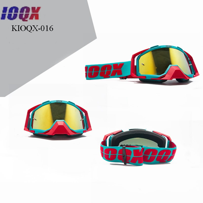 IOQX Free Ship Multi-color Motocross Goggles Motorcycle Glasses Motorbike Spectacles Outdoor Riding Racing Ski enlarge