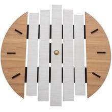 Xylophone Wooden Wall Clock Modern Design Vintage Rustic Shabby Clock Quiet Art Watch Home Decoratio