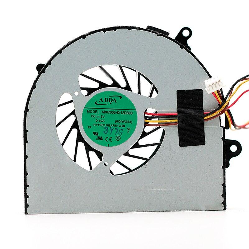 Adda ab07005hx12db00 ventilador do portátil do servidor dc 5v 0.40a 4 fios