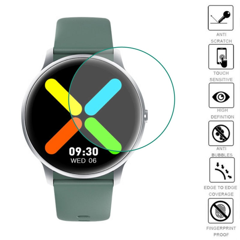 5pcs Soft TPU Clear Protective Film Smartwatch Guard For Xiaomi IMILAB KW66 Smart Sport Watch Screen Protector Cover Protection