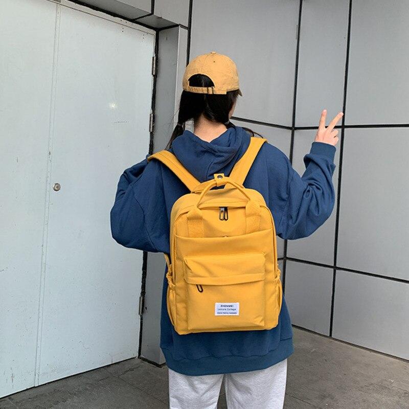 Женский рюкзак для девочек-подростков, новая модная повседневная сумка на плечо для школьников, милые дорожные рюкзаки, лето 2021