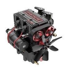 TOYAN FS-L200 Two-cylinder Four-stroke Nitro Engine Model for 1/10 1/12 1/14 RC Car Ship Model