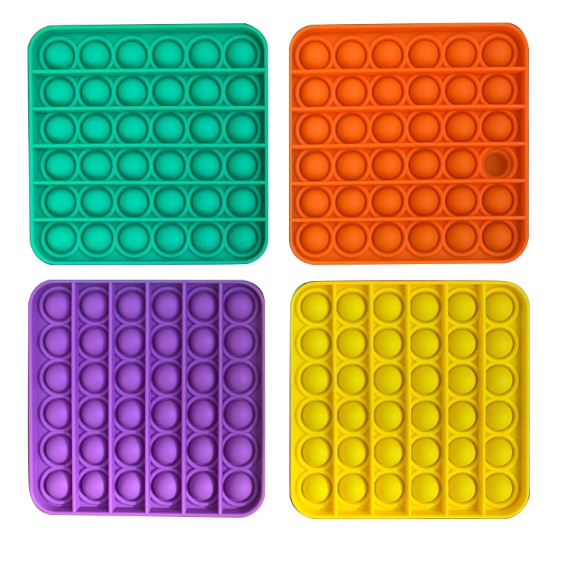 Push Bubble Fidget Sensory Toy Autism Special Needs Stress Reliever Kids Adult Antistresse Toy Popit Fidget Toys Simple Dimple enlarge