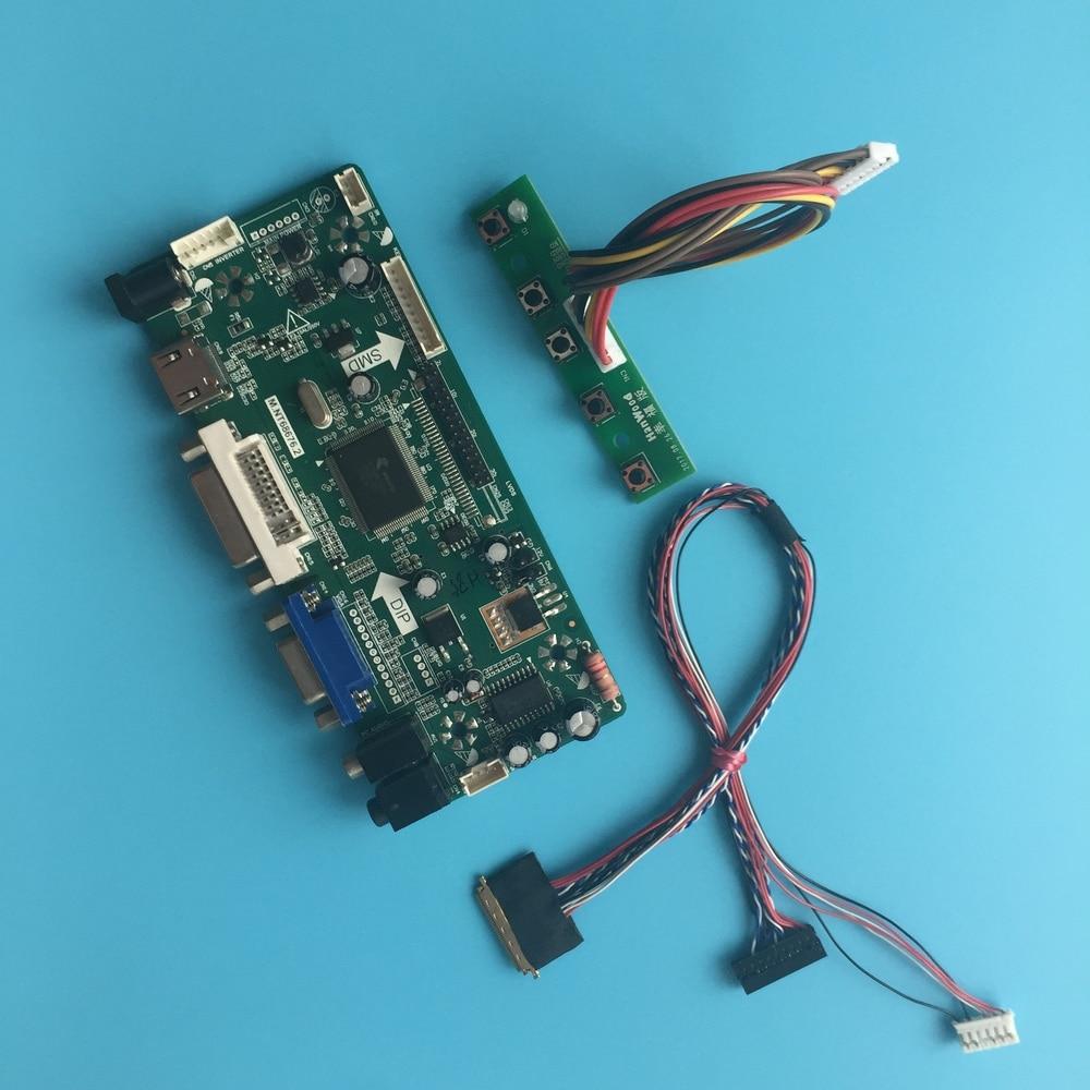 LVDS LCD LED HDMI DVI VGA Aduio بطاقة تحكم المجلس ل 15.6