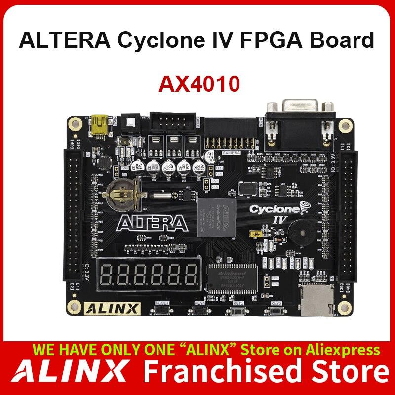 ALINX AX4010: ALTERA CYCLONE IV EP4CE10 FPGA Development Kits Entry Level Study Board
