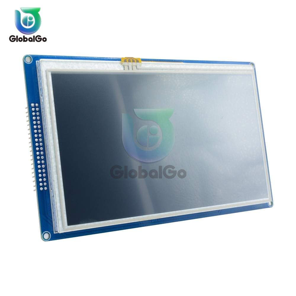 وحدة شاشة عرض رقمية TFT LCD مقاس 7 بوصات 800 × 480, SSD1963 PWM للوحة تحكم Arduino AVR STM32 ARM 800*480 800 480