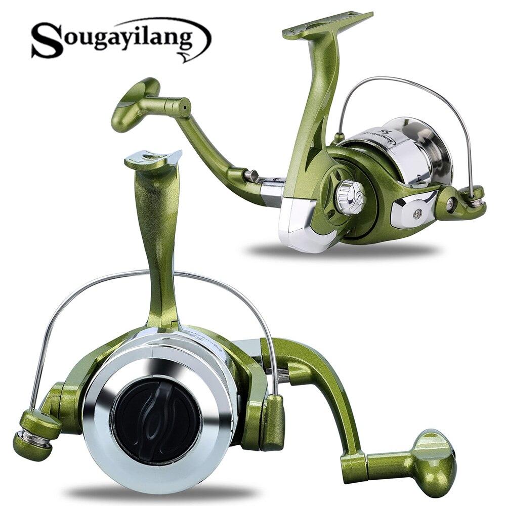 Sougayilang NEUE GA1000-4000 Reel 6BB High Speed 5.21 getriebe Verhältnis Rechts/Links Austausch Spinning Angeln Reel Salzwasser Süßwasser