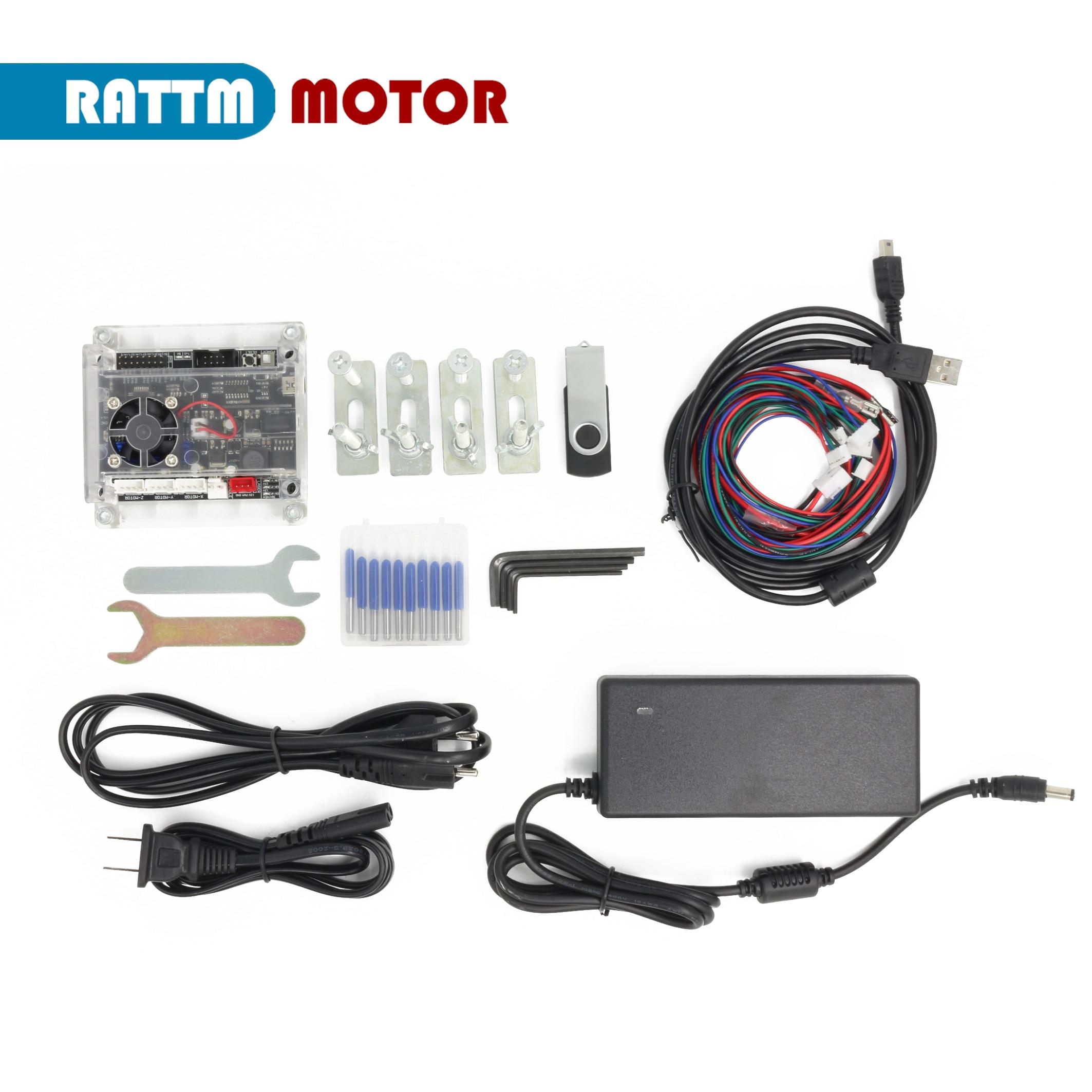 【RU / EU】CNC 3 Axis GRBL Control 3018 Pro Max DIY Mini Laser engraving Machine + ER11 Collet enlarge