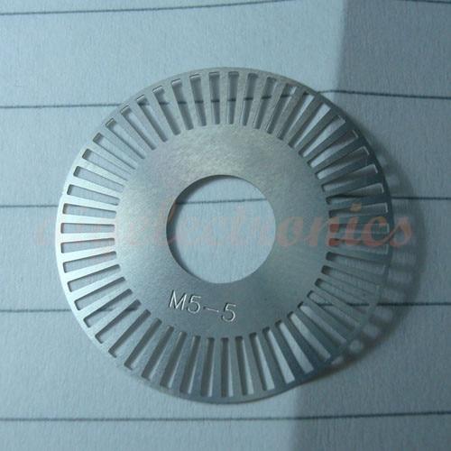 DIY RC Roboter Teil M5-5 Drehgeber Inverter 50 linie 25mm Roboter Geschwindigkeit Messung Disc Code Rad Servo Motor gitter Disk
