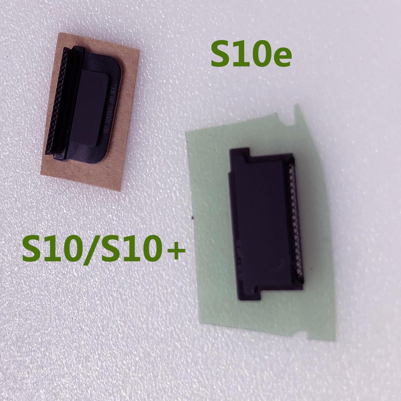 Malla antipolvo para Samsung Galaxy S10 G973 G973F G9730 S10 PLUS G975 G9750 G975F S10E G970 soporte de malla para altavoz de oreja