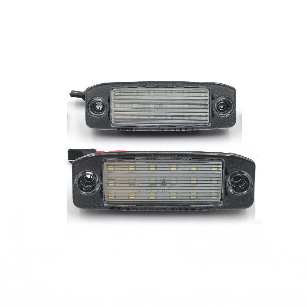 Eonstime 2pcs Car Led License Plate Lights 12v Smd Led Number Plate Lamp Bulb Kit For Hyundai Sonata Yf 10my Gf 10 Accessories 12v Car Led Lamp Car Lightkit Kits Aliexpress