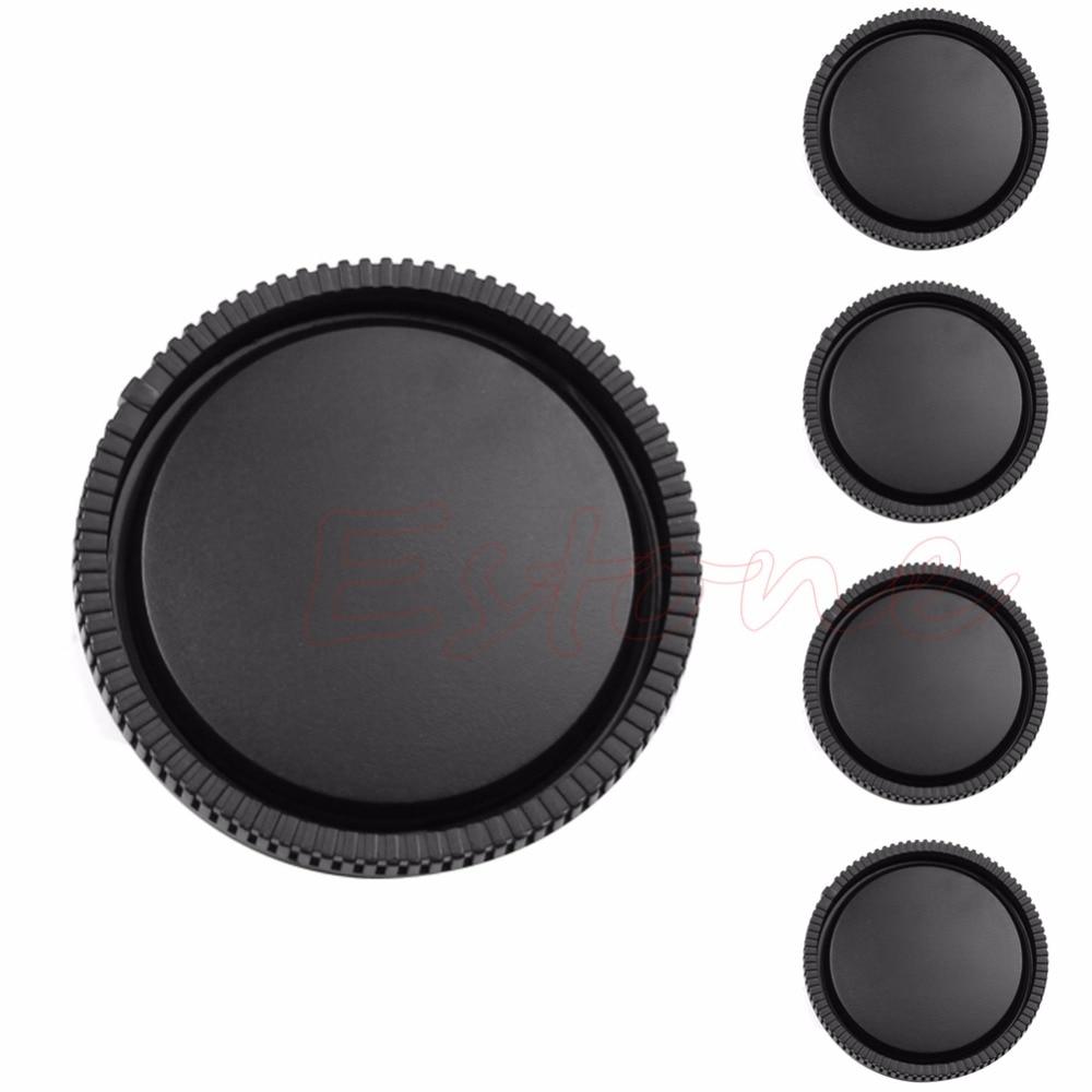 1 tapa de lente trasera para Sony e-mount NEX-3 NEX-5 negro