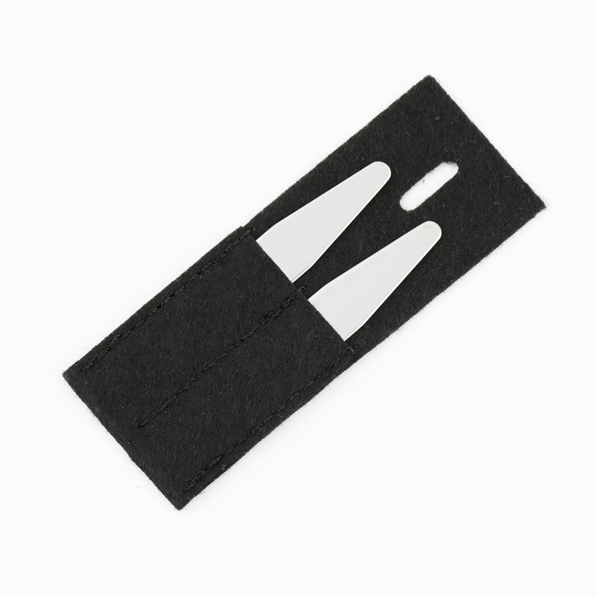 Персонализированный нержавеющая сталь воротник кости ребра жесткости вставки для формальных рубашек на заказ гравировка имя логотип воротник вставки надписи