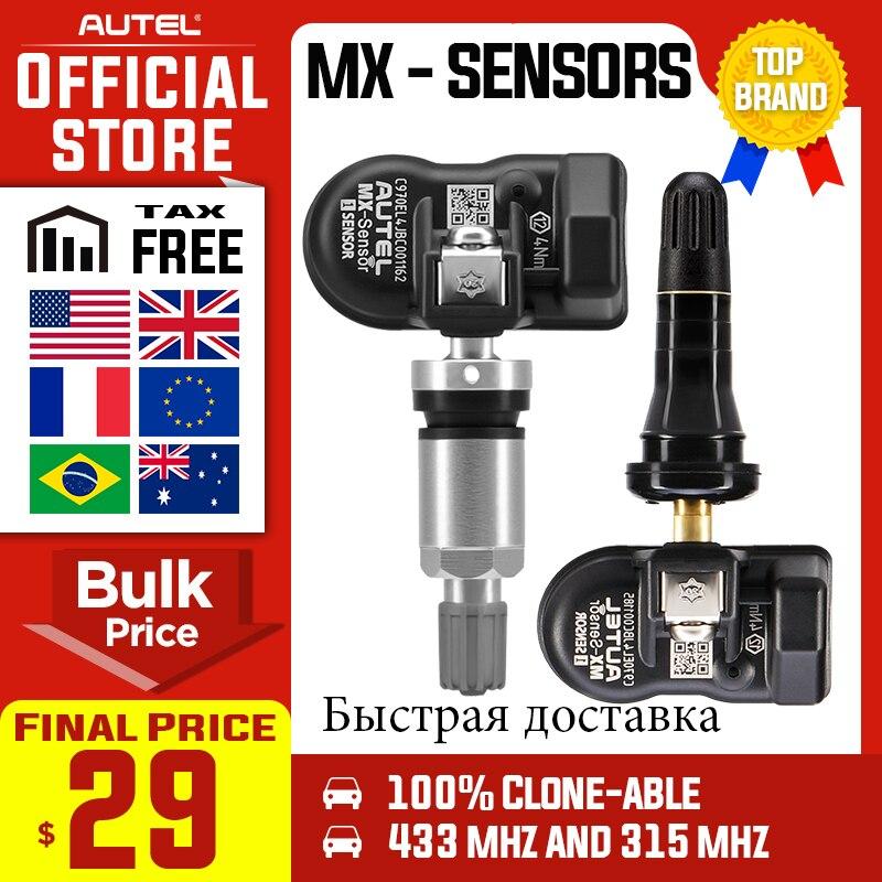 Autel MaxiTPMS PAD programador de presión de neumáticos TPMS Sensor mx-sensor 433 315MHz MX Sensor autel TPMS herramienta para TS601