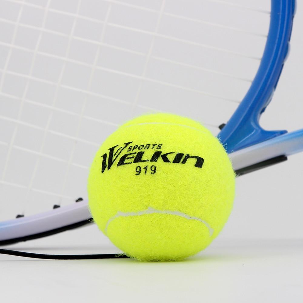 Теннисные мячи с эластичной веревкой, тренировочные мячи для крикета, спортивные товары, мячи для начинающих