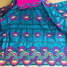 Mode vêtement africain coton tissu 2020 Bazin Riche 7YARDS/PC DHL livraison gratuite guinée brocart 27L081610