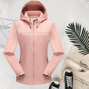 New Jacket Coat for Woman Autumn Winter Windproof Outwear Climbing Camping Trip Sportswear Waterproof  Jacket Tops Lady Fashion